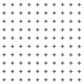 mod baby » tiny crosses grey