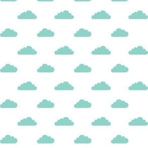 mod baby » tiny clouds mint