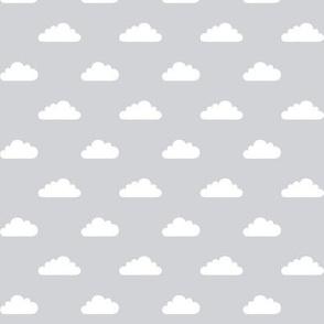 mod baby » tiny clouds on grey light