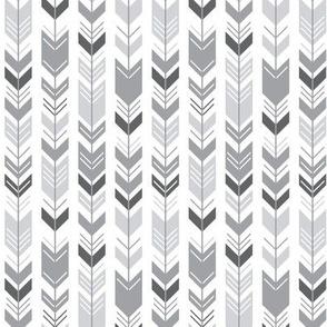 mod baby » herringbone arrows grey