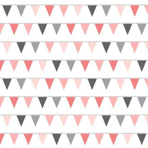 mod baby » bunting coral