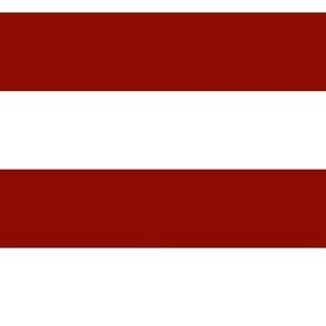 broad red stripe