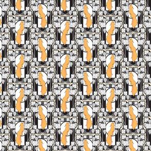 fox_grape_frame_pattern