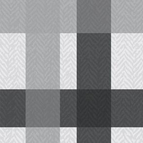 Retro Plaid Light Gray - Cool