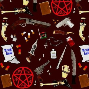 Supernatural:Tools of the Trade-red
