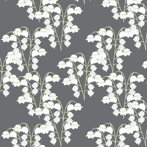Lily of the Valley - Grey