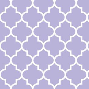 quatrefoil LG light purple