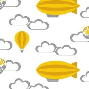 Yellow zeppelin