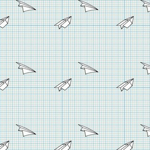 Paper Planes (2 on graph paper)