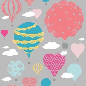Doily Balloons (multi color)