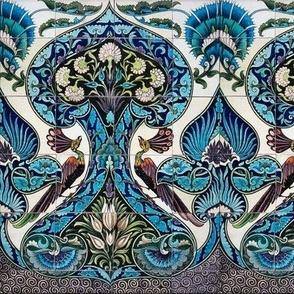 Merton Peacock Tiles