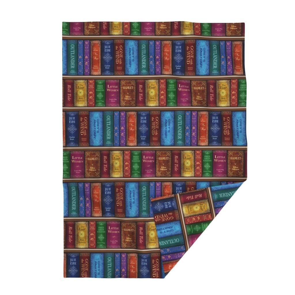 Lakenvelder Throw Blanket featuring Teresa's Bookshelf by sssowers