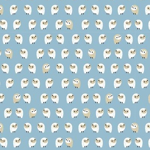 little owls - denim