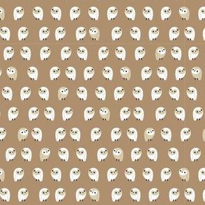 little owls - stone