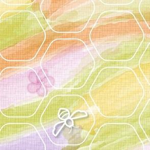 Bees: Spring Watercolor