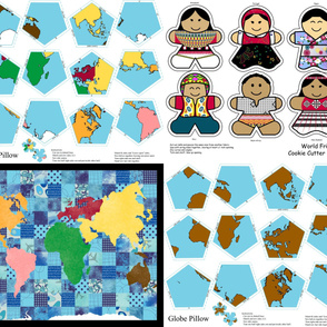 Montessori Geography Saver Set