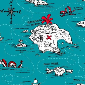 Adventure Islands Ahoy! on Teal