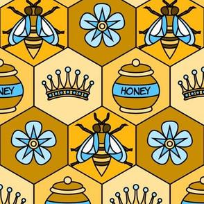 Bee Fabric- medium