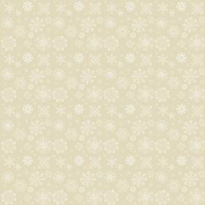 snowflakePattern-smprint-Beige