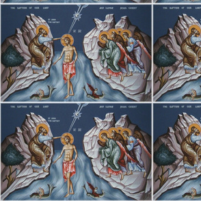 Theophany Icon Panels