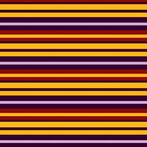 Purple, lavender, gold and red stripes (Memories of Flocked Wallpaper) sideways