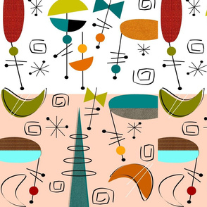 Mid-Century Modern Abstracts