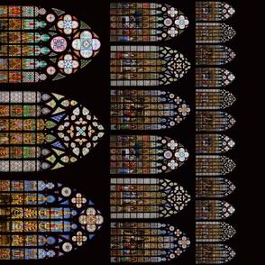 Cathedral of Saints-Michel-et-Gudule Border Print