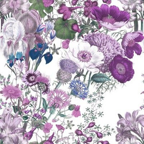 Bloomin' Lovely ~ Twilight on White