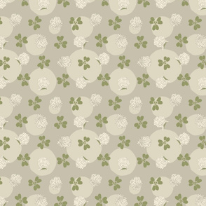Fine & Dandelion Clover in Gray
