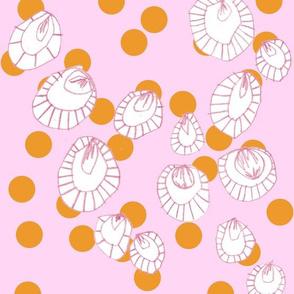Confetti Orange Pink