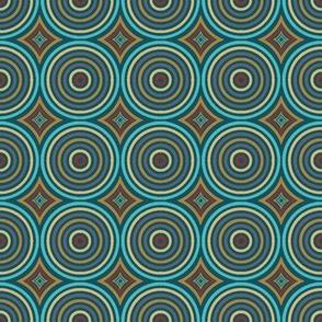 Circles Upon Circles - Vibrant Steampunk