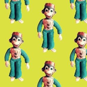 Monkey See. Monkey Do. Chartreuse