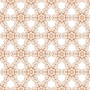 Flower Sixies Orange