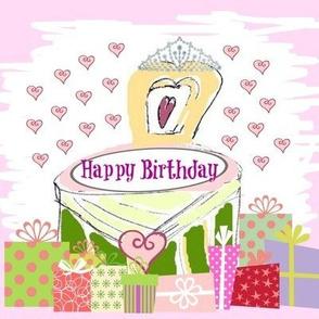 Lovely Princess -Happy Birthday