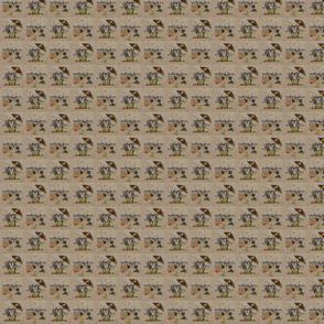 Beach Sheepies tiled X-small