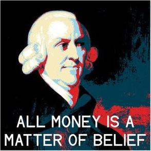 04145233 : poster-ized Adam Smith 1723-1790