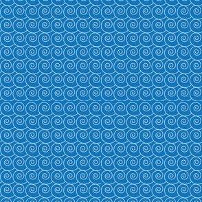 spirals-blue ocean