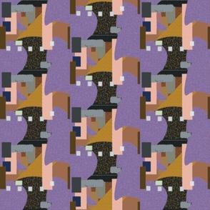 Entropy in Purple
