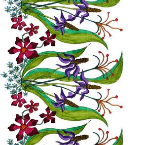 flower border skirt