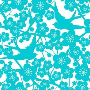 Cherry Blossom - Aqua