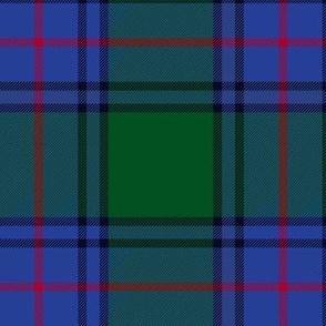 "Shaw tartan, 6"" bright modern colors"