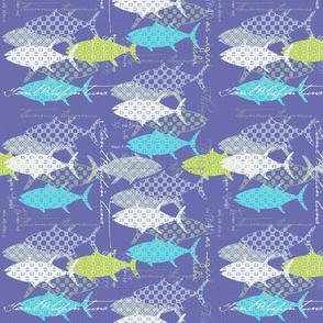 Royal Tuna Cobalt Aqua