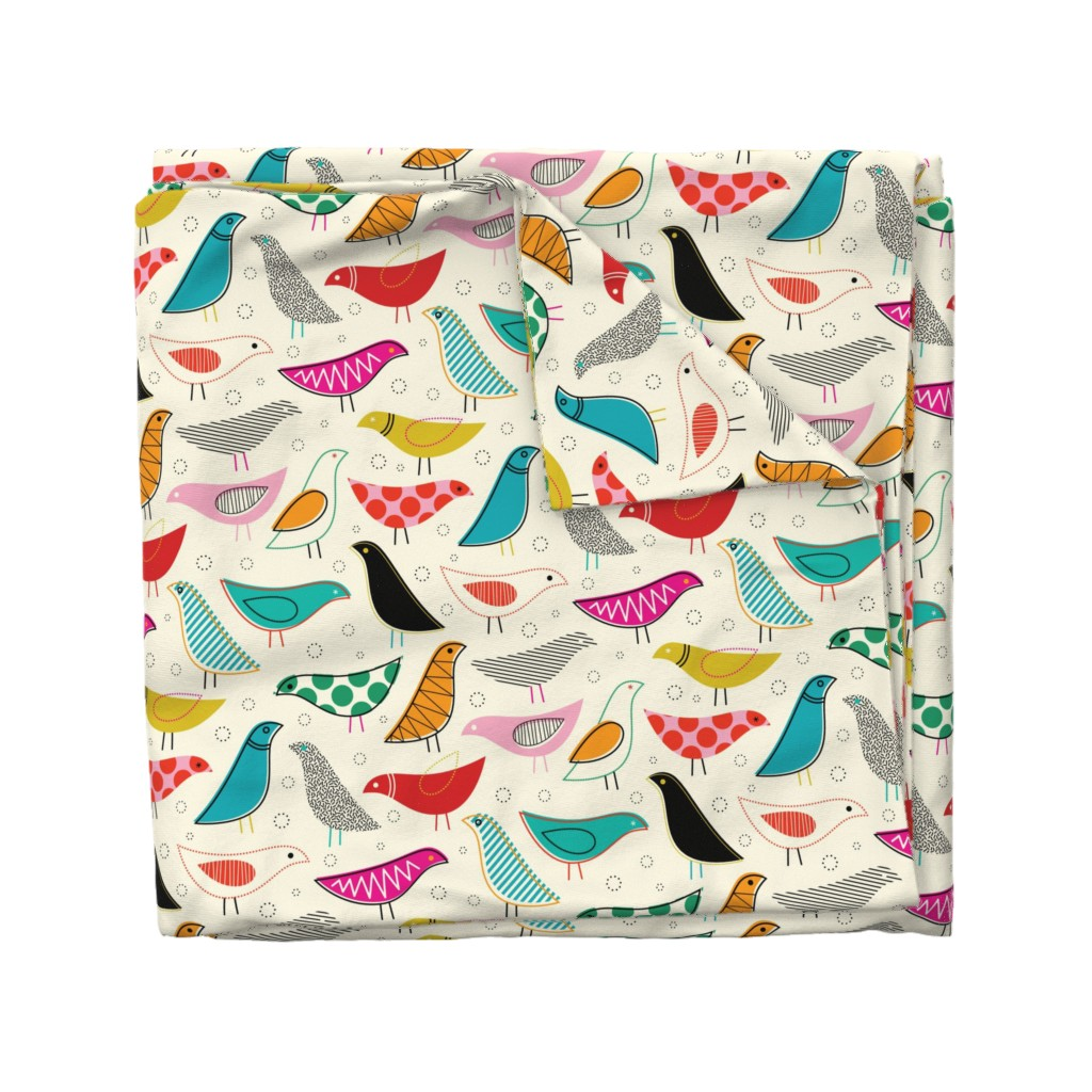 Wyandotte Duvet Cover featuring A Nod to the House Bird by katerhees
