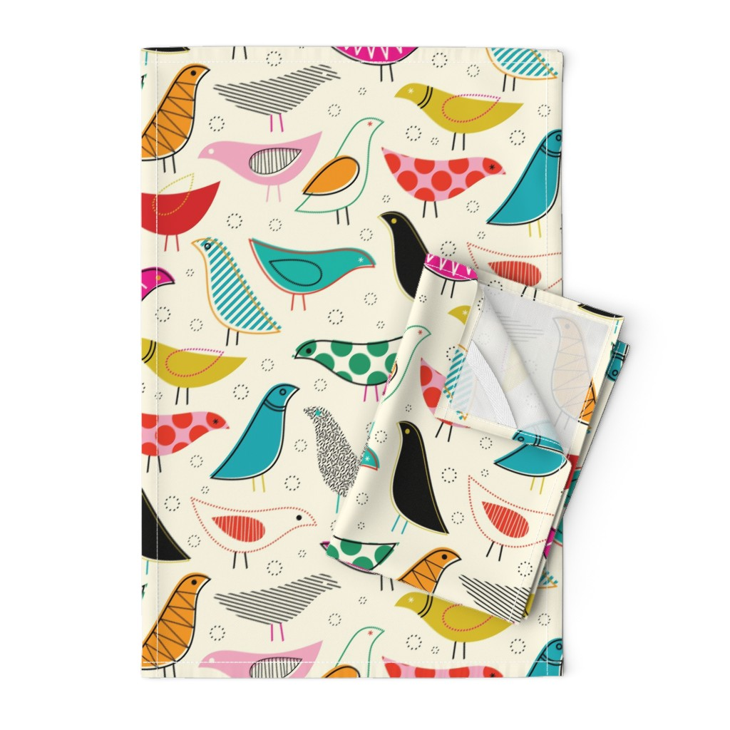 Orpington Tea Towels featuring A Nod to the House Bird by katerhees