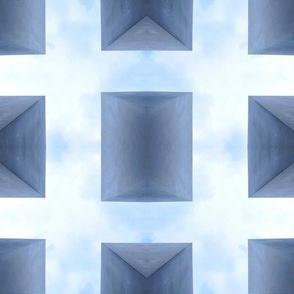 Blue Block Grid