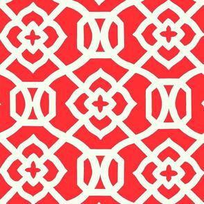 Moroccan_Lattice-_Red___white