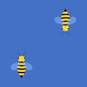 Busy Bee Patrol Blue