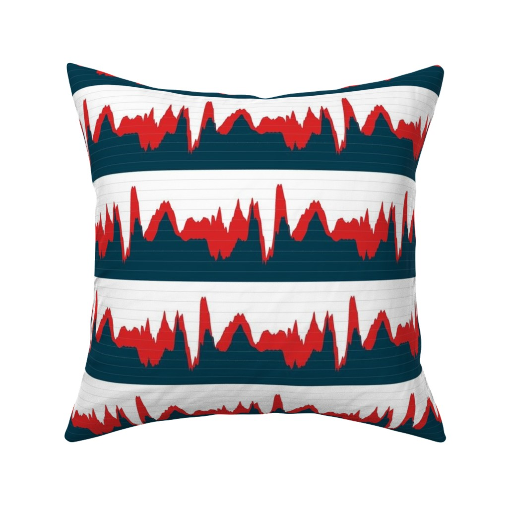 Catalan Throw Pillow featuring economic growth chart by weavingmajor