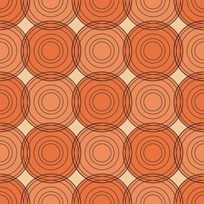 red & orange circles