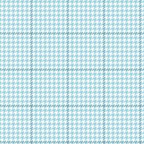business tweed light blue